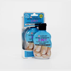 NAIL-AID Nail-ad / 2-in-1 Cuticle + Callus Remover – Körömbőr oldó folyadék