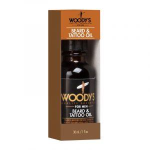 WOODY'S BEARD&TATTOO OIL – Szakáll és tetoválás olaj