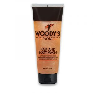 WOODY'S HAIR & BODY WASH – Sampon és tusfürdő