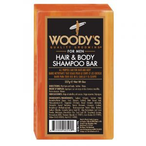 WOODY'S HAIR & SHAMPOO BAR – Haj és test szappan