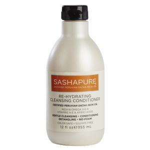 SASHAPURE RE-HYDRATING CLEANSING CONDITIONER – Rehidratáló hajbalzsam