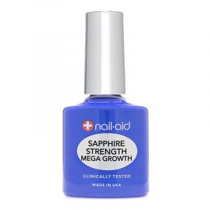NAIL-AID SAPPHIRE STRENGTH MEGA GROWTH – Zafír körömerősítő és növesztő