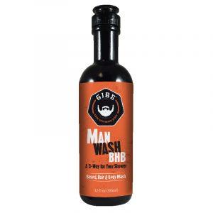 GIBS MAN WASH BHB – Szakáll, Haj & Test Tusfürdő