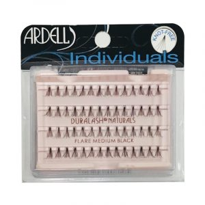 ARDELL INDIVIDUALS LASHES DURALASH NATURAL – FLARE MEDIUM BLACK – Tincses műszempilla