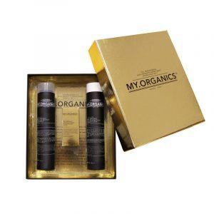 MY.ORGANICS GIFT BOX DELUXE AFTER COLOUR – Színvédő ajándékcsomag