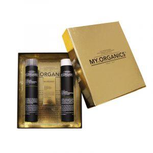 MY.ORGANICS GIFT BOX DELUXE THICKENING – Dúsító ajándékcsomag