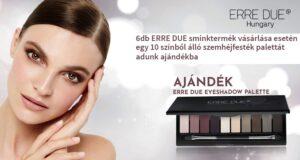 Tündökölj és ragyogj Te is az ERRE DUE csodás make-up termékeivel