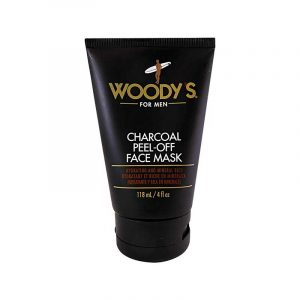 WOODY'S CHARCOAL PEEL-OFF FACE MASK – Arcmaszk férfiaknak